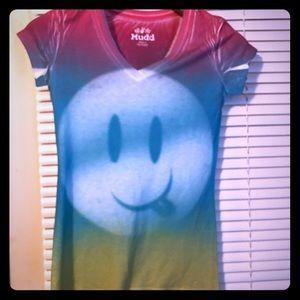 🔥Emoji Rainbow T shirt Size Small